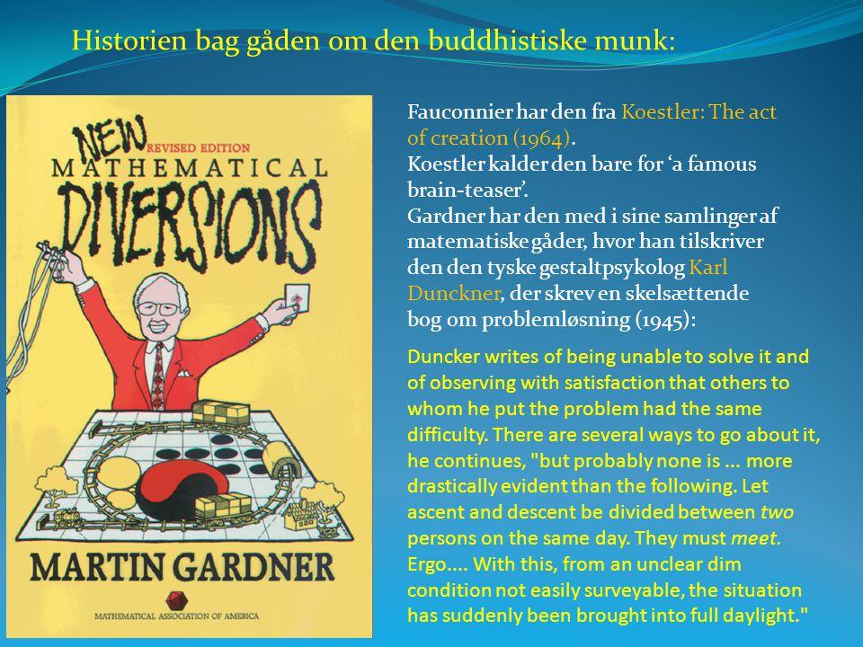 Historien bag gåden om den buddhistiske munk:
