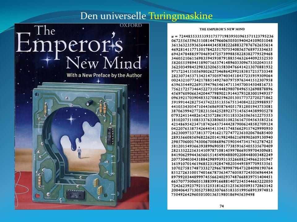 Den universelle Turingmaskine