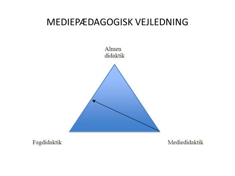 MEDIEPÆDAGOGISK VEJLEDNING