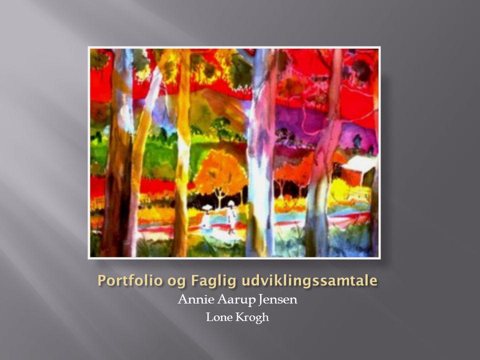 Portfolio og Faglig udviklingssamtale
