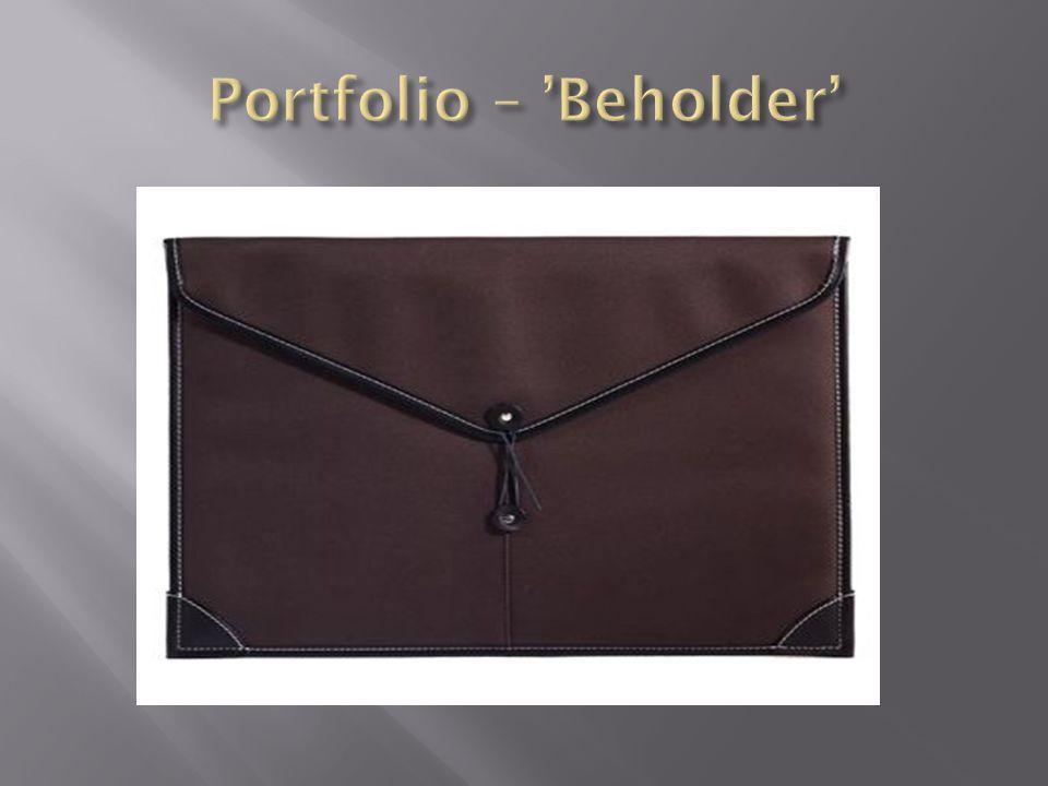 Portfolio – 'Beholder'