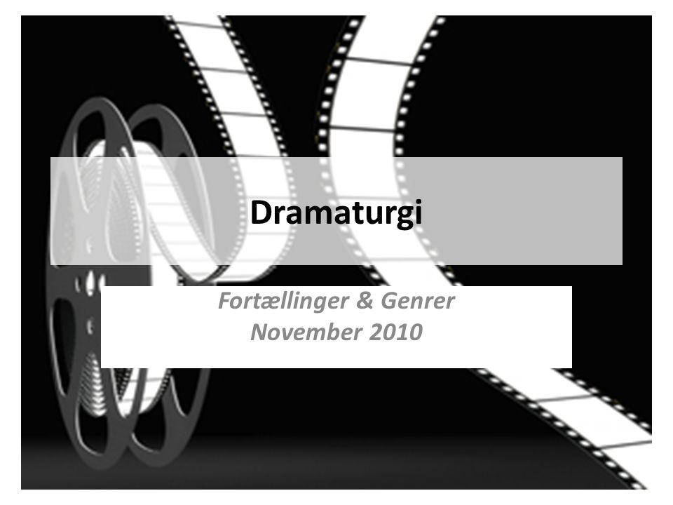 Fortællinger & Genrer November 2010