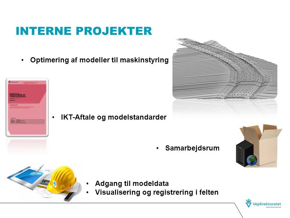 Interne projekter Optimering af modeller til maskinstyring