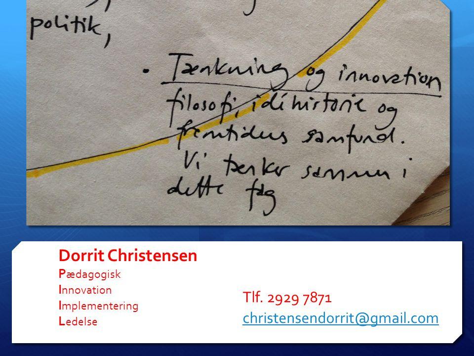 Dorrit Christensen Pædagogisk Innovation Implementering Ledelse