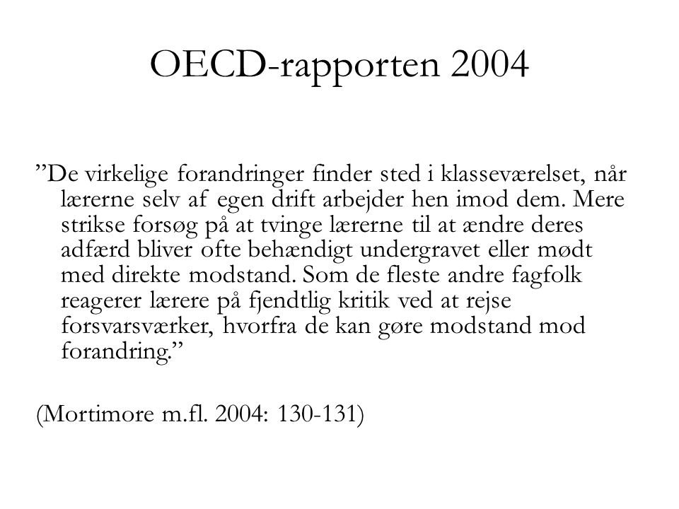 OECD-rapporten 2004