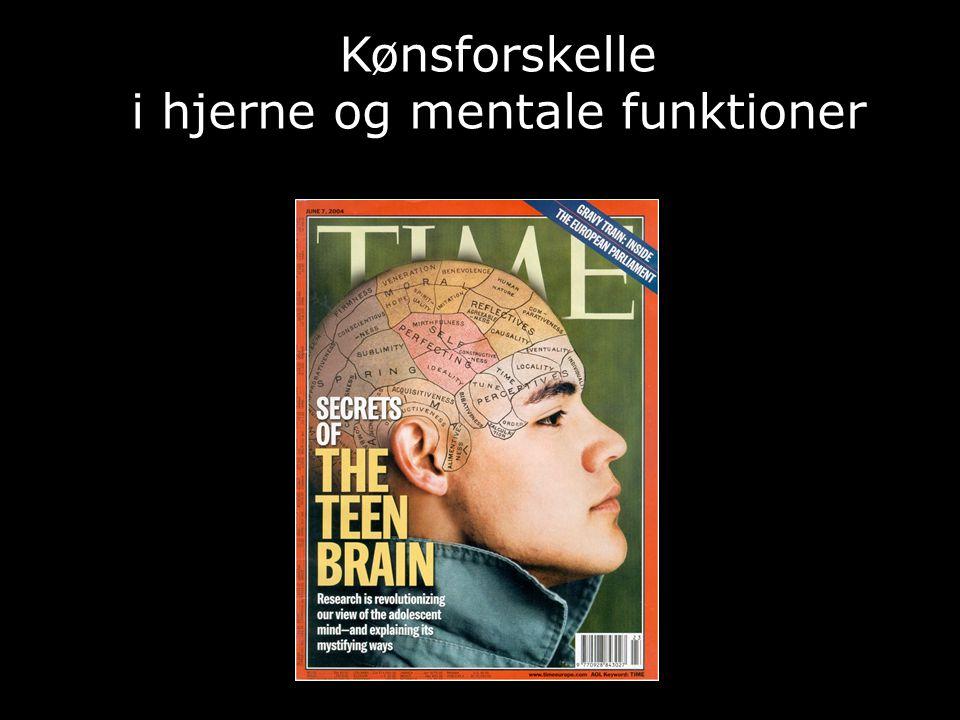 i hjerne og mentale funktioner
