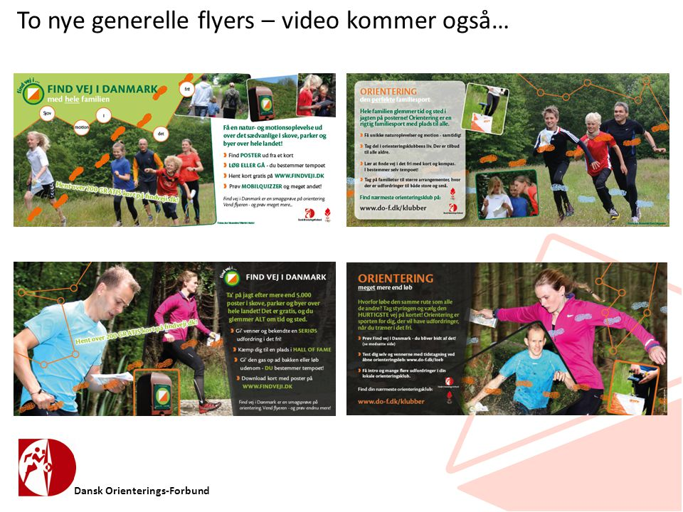 To nye generelle flyers – video kommer også…