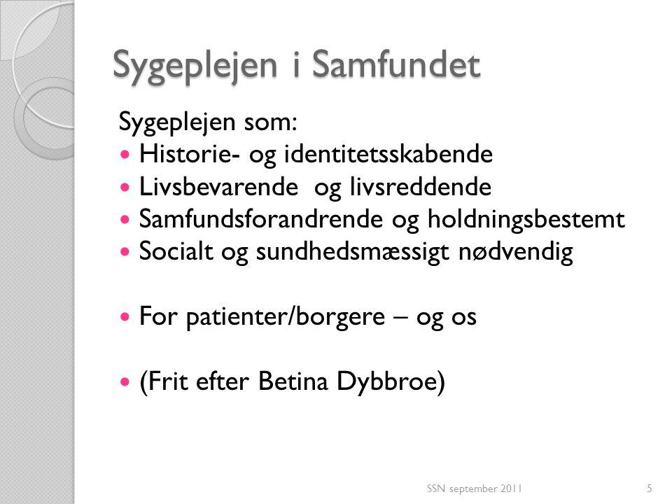 Sygeplejen i Samfundet