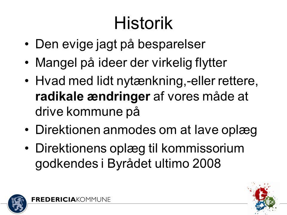 Historik Den evige jagt på besparelser