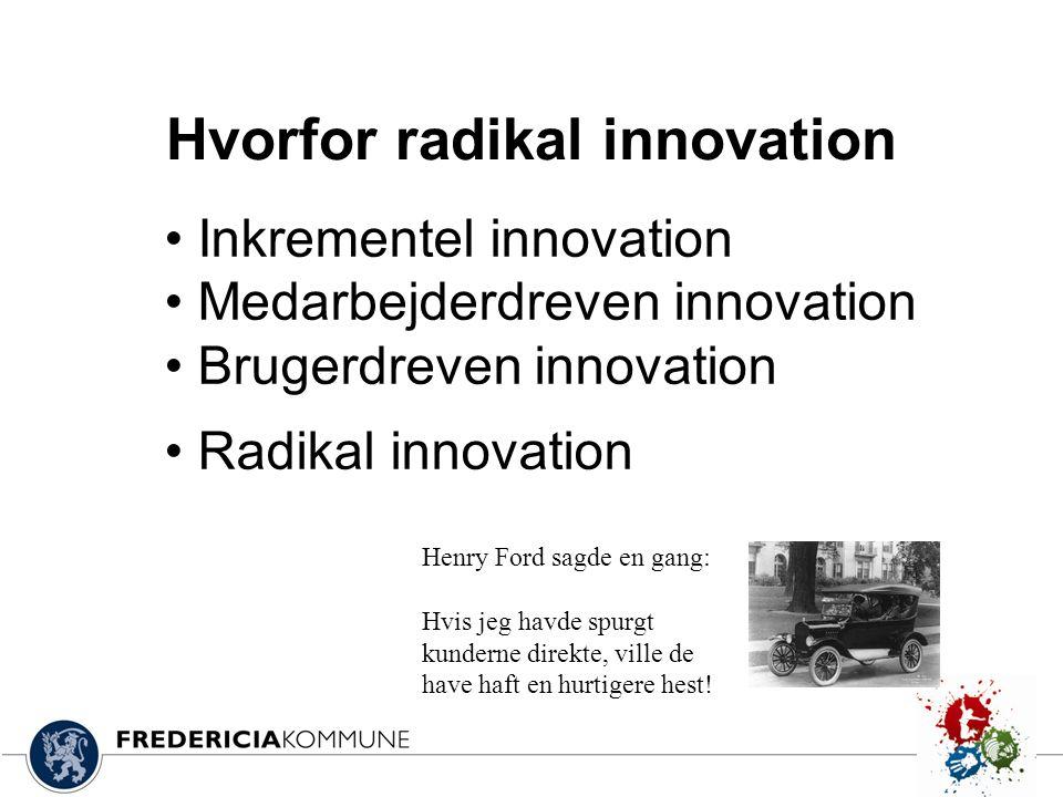 Hvorfor radikal innovation