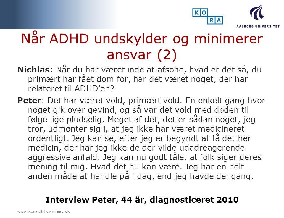 Når ADHD undskylder og minimerer ansvar (2)