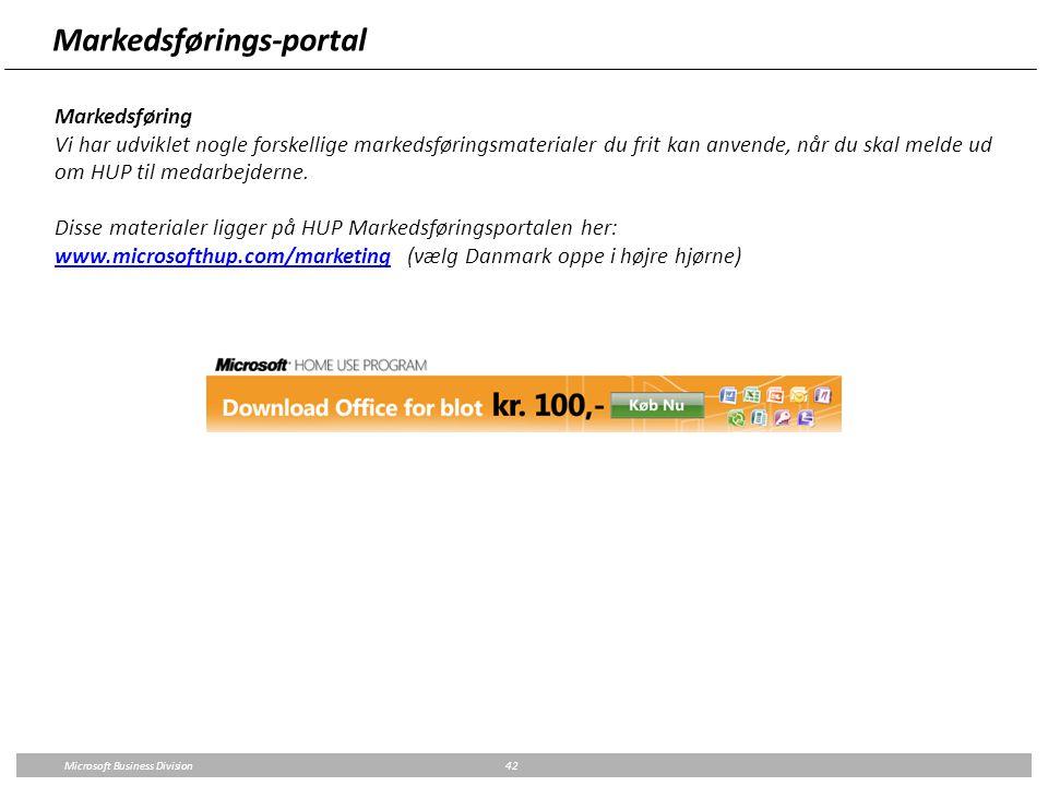 Markedsførings-portal