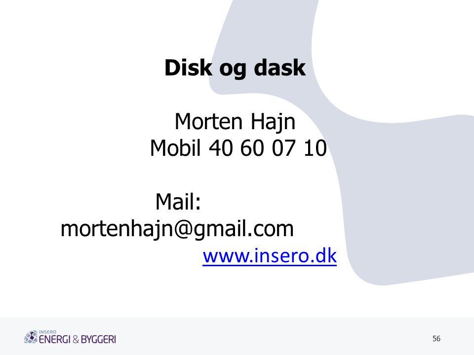 Mail: mortenhajn@gmail.com www.insero.dk
