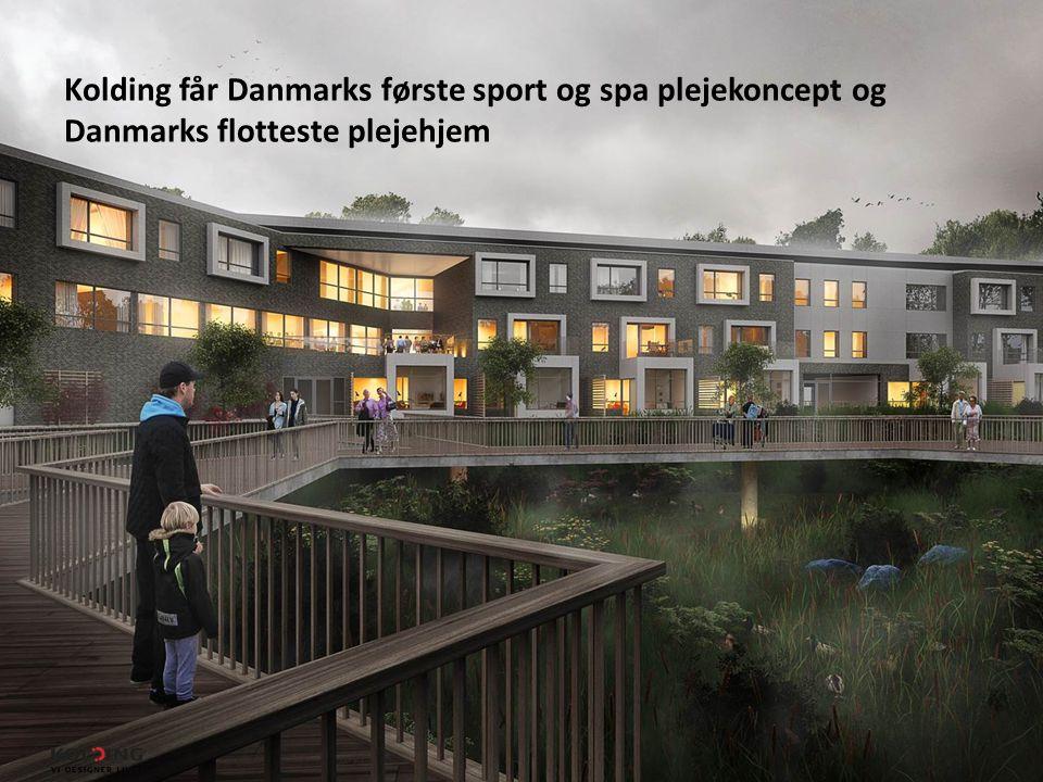 Kolding får Danmarks første sport og spa plejekoncept og