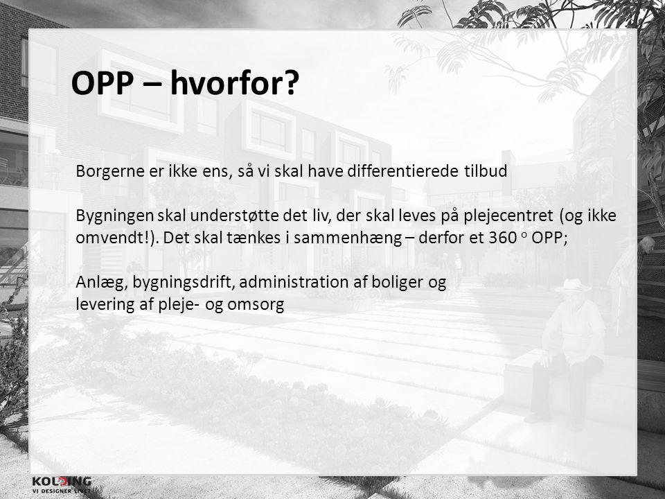 OPP – hvorfor Borgerne er ikke ens, så vi skal have differentierede tilbud.