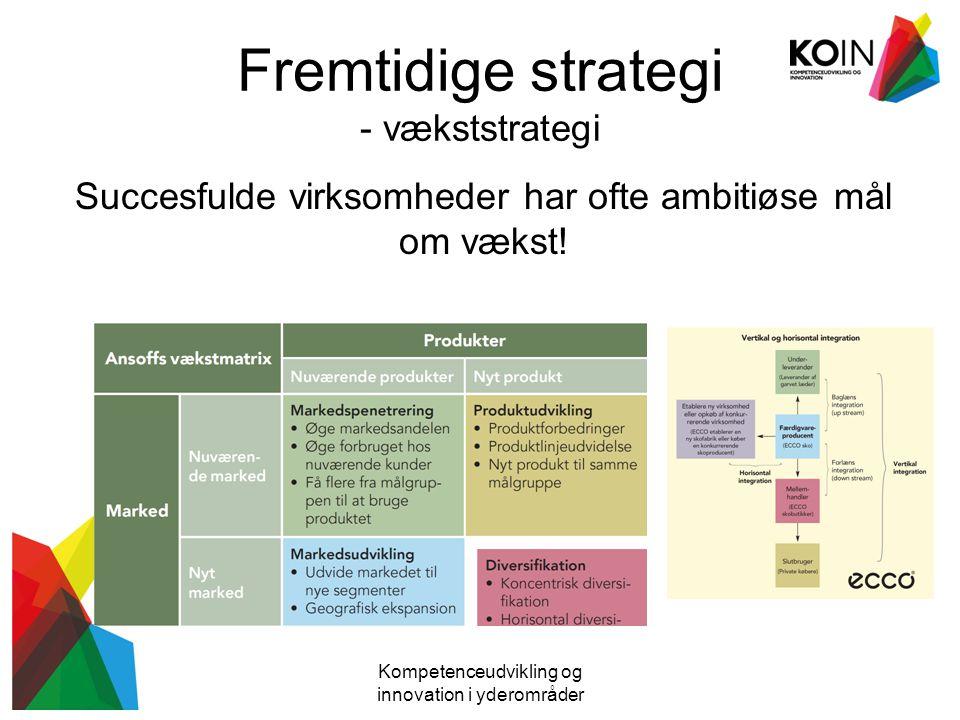 Fremtidige strategi - vækststrategi