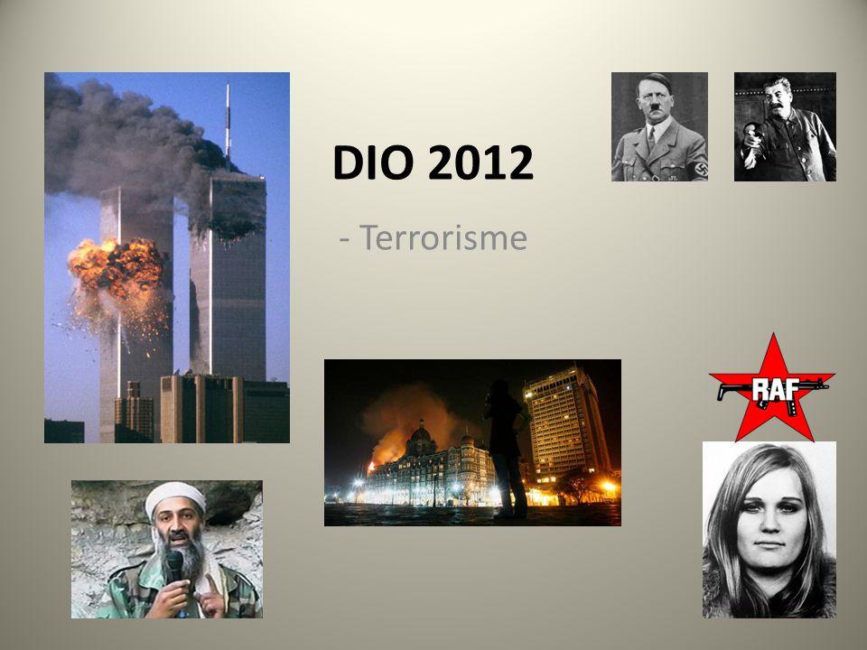 DIO 2012 - Terrorisme