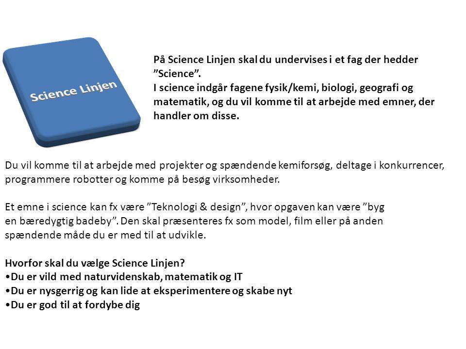 Science Linjen