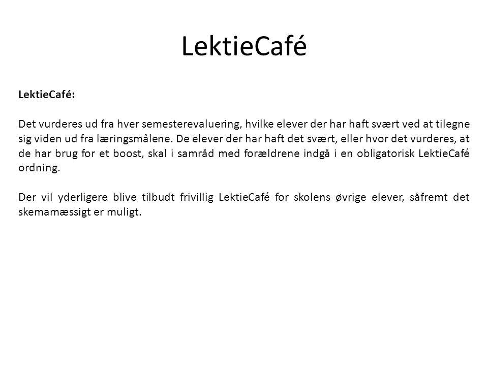 LektieCafé LektieCafé: