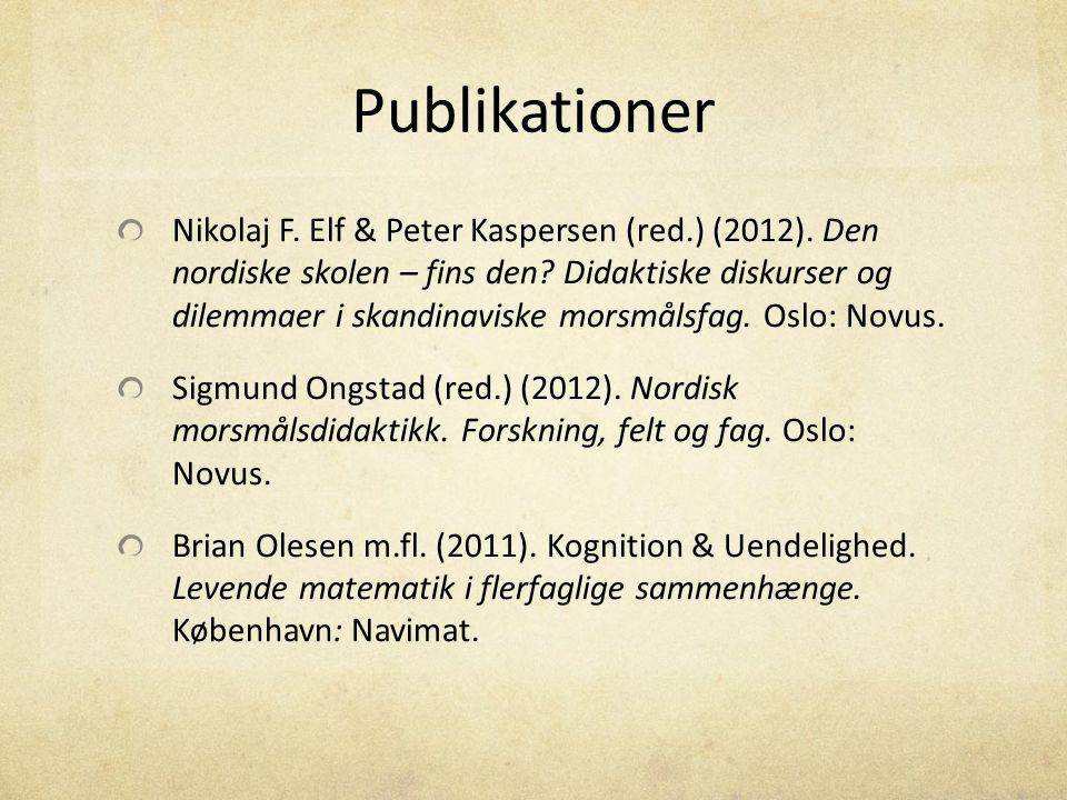 Publikationer