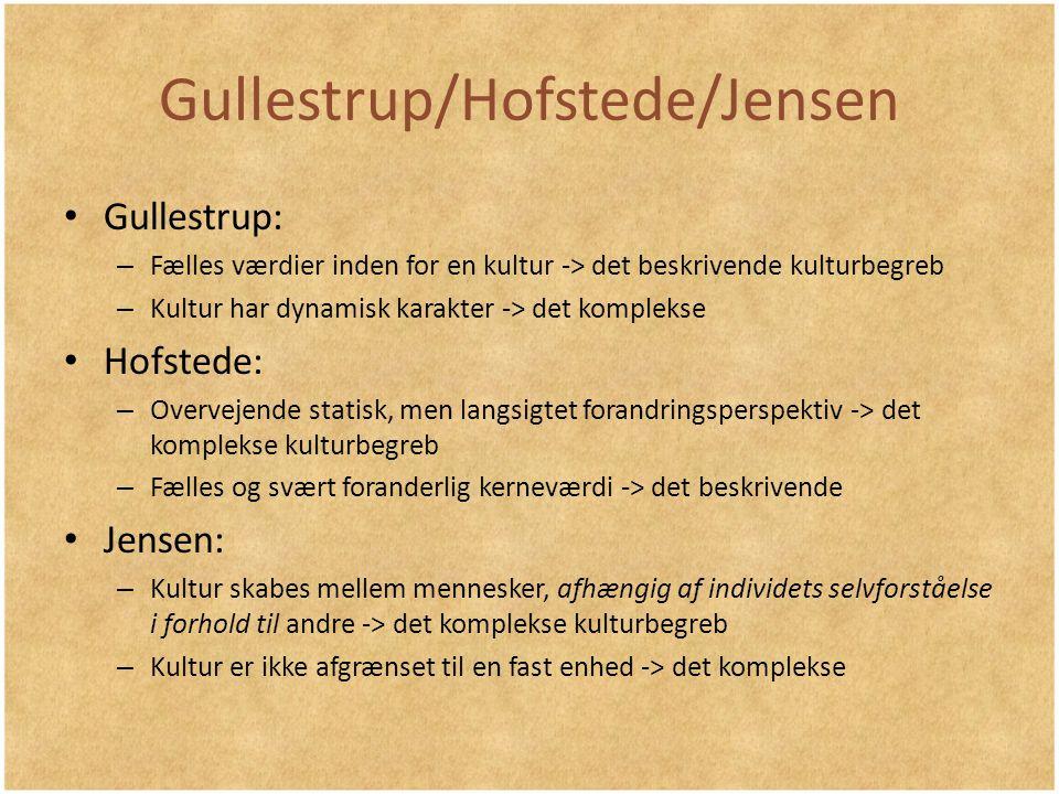 Gullestrup/Hofstede/Jensen