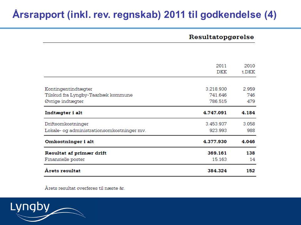 Årsrapport (inkl. rev. regnskab) 2011 til godkendelse (4)
