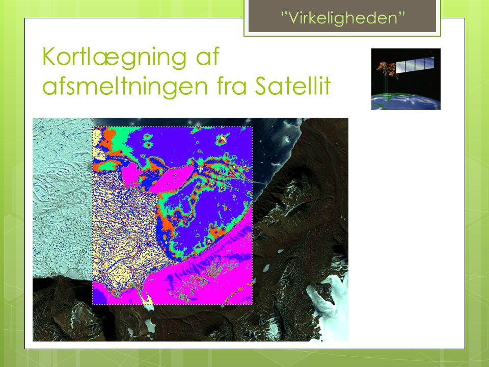 Kortlægning af afsmeltningen fra Satellit