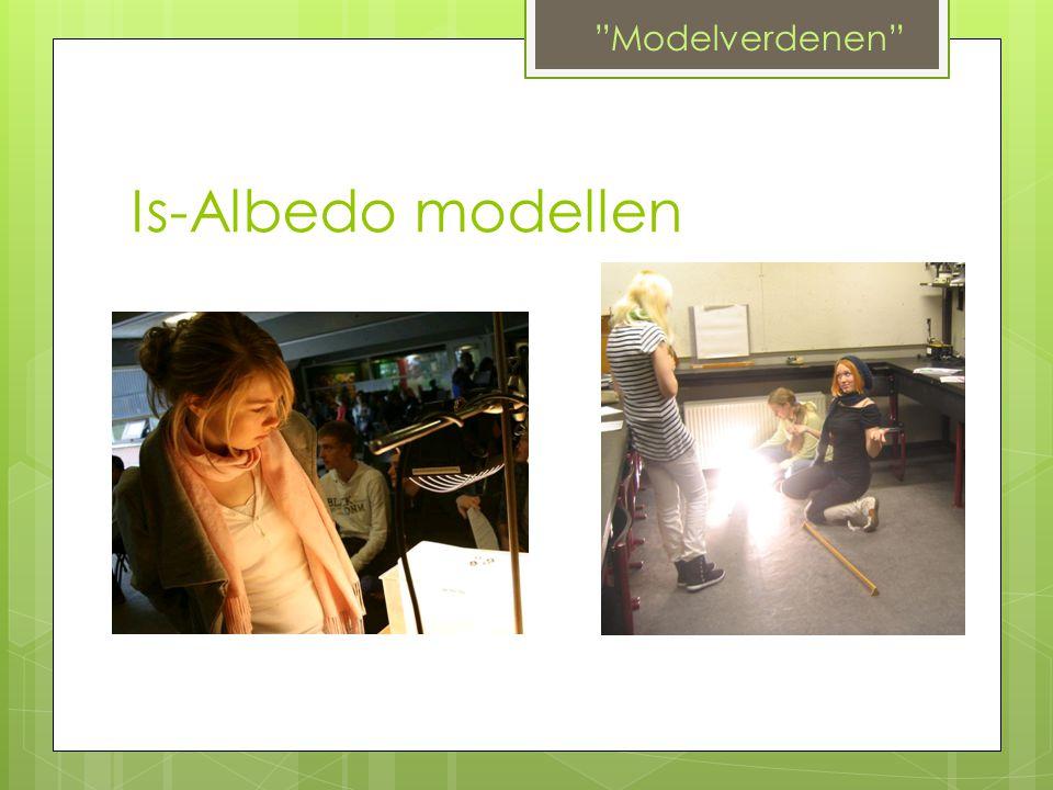 Modelverdenen Is-Albedo modellen