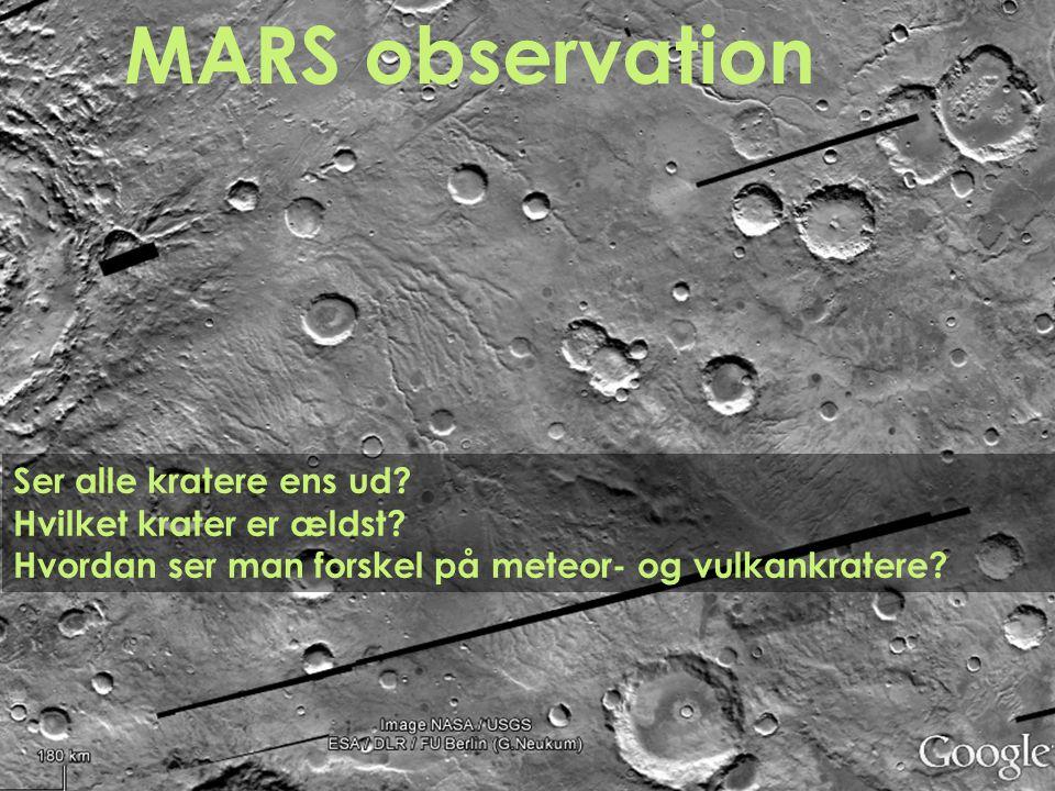 MARS observation PROBLEM Ser alle kratere ens ud