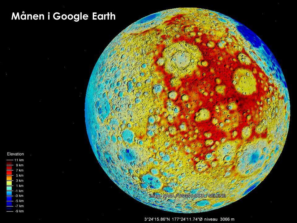 Månen i Google Earth