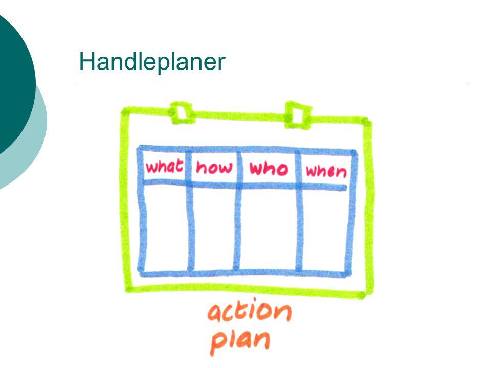 Handleplaner