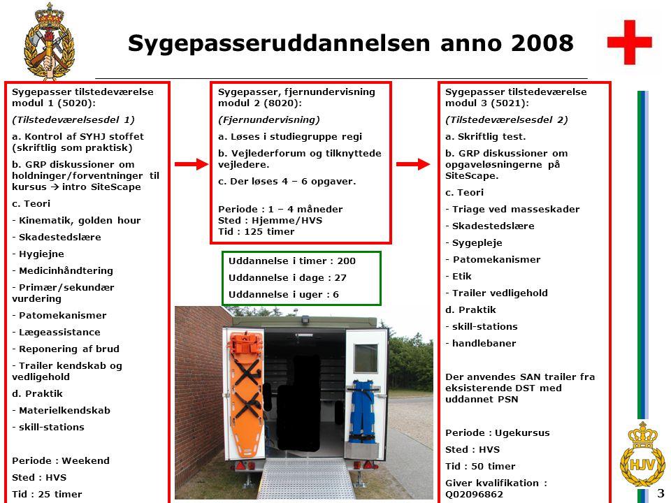 Sygepasseruddannelsen anno 2008
