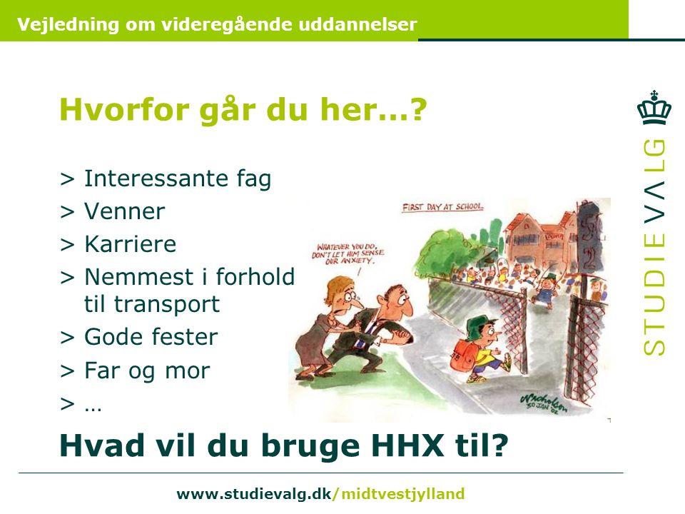 Hvad vil du bruge HHX til