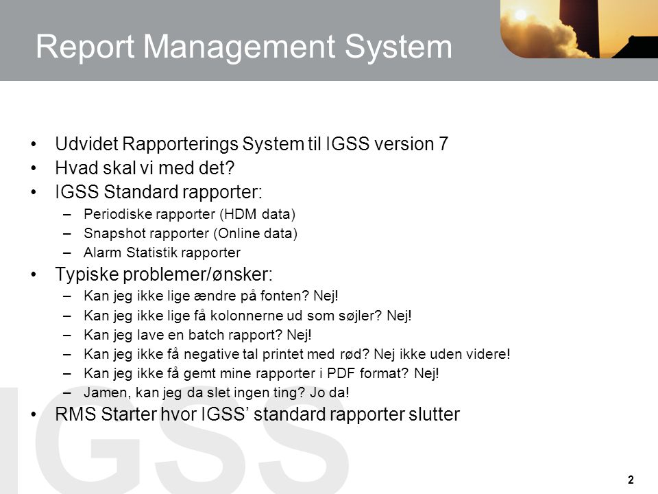Report Management System