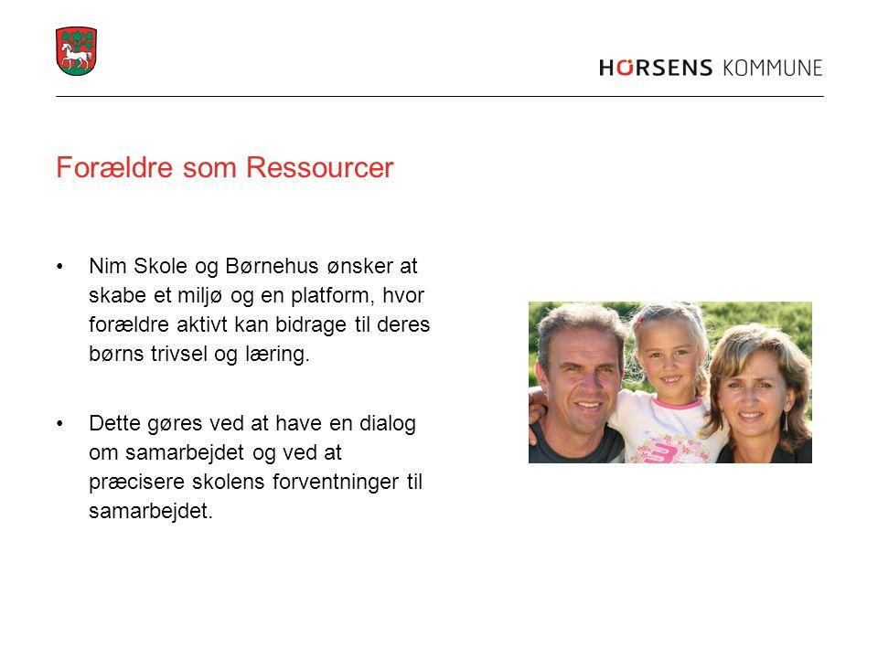 Forældre som Ressourcer