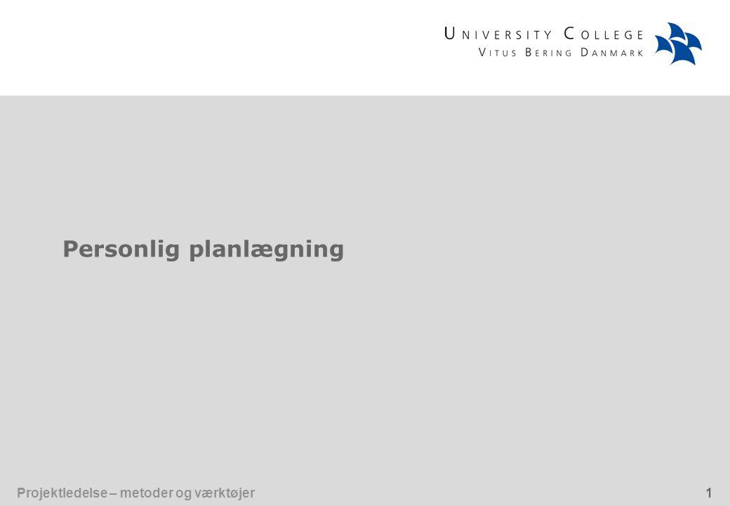 Personlig planlægning