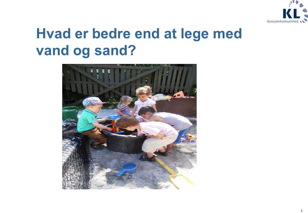 Hvad er bedre end at lege med vand og sand