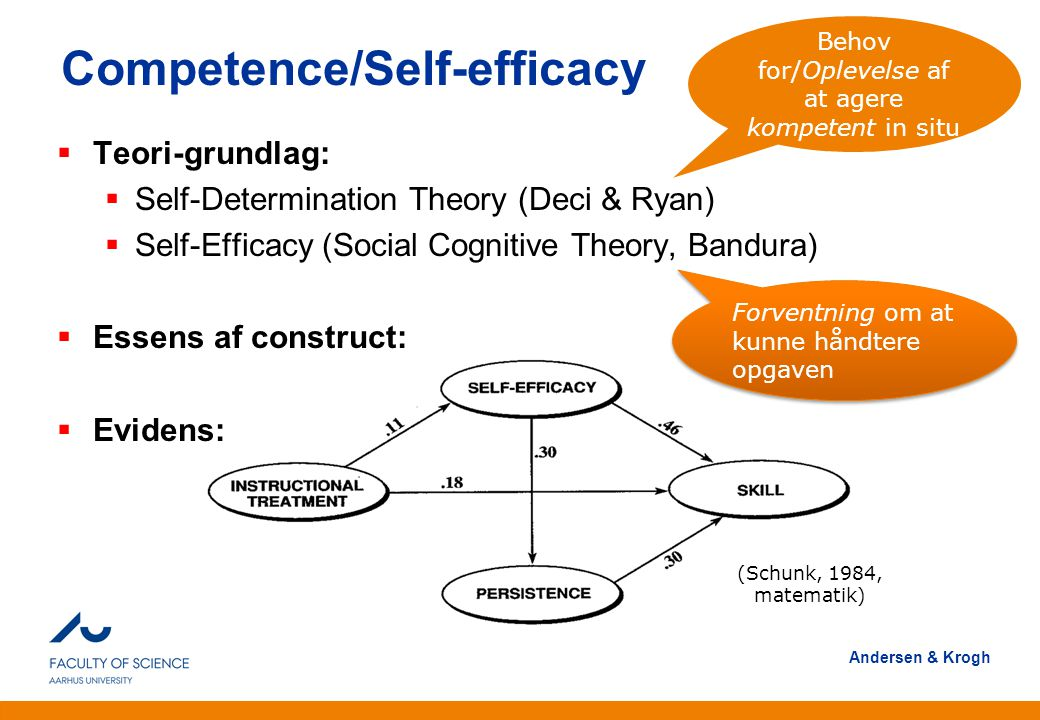 Competence/Self-efficacy