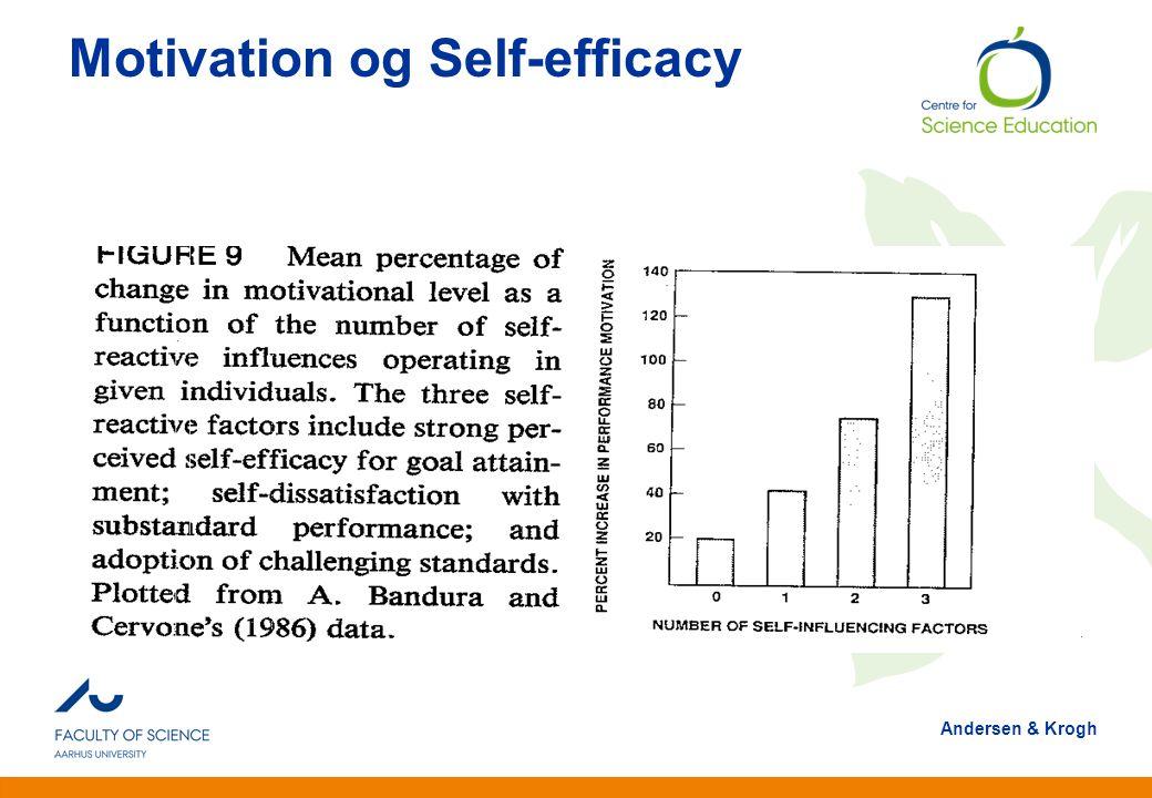 Motivation og Self-efficacy