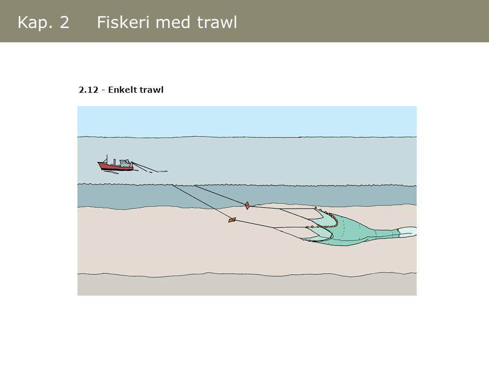 Kap. 2 Fiskeri med trawl 2.12 - Enkelt trawl