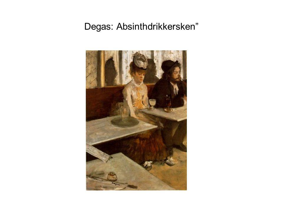 Degas: Absinthdrikkersken