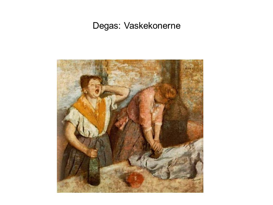 Degas: Vaskekonerne