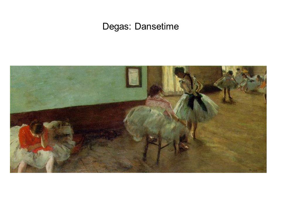 Degas: Dansetime