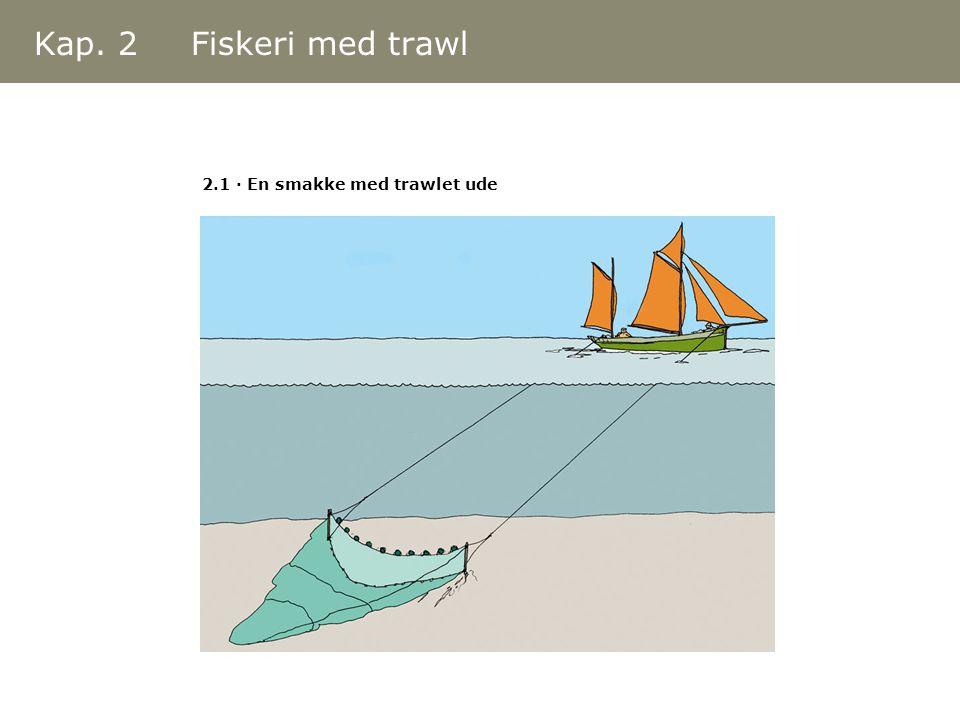 Kap. 2 Fiskeri med trawl 2.1 · En smakke med trawlet ude