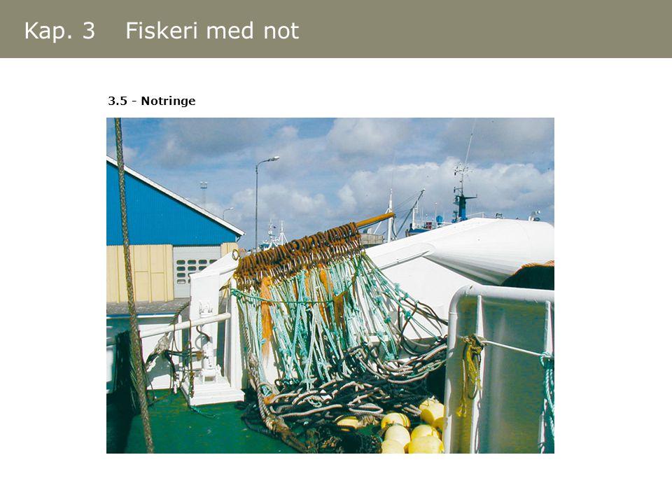 Kap. 3 Fiskeri med not 3.5 - Notringe