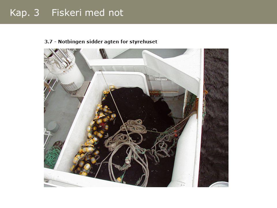 Kap. 3 Fiskeri med not 3.7 - Notbingen sidder agten for styrehuset