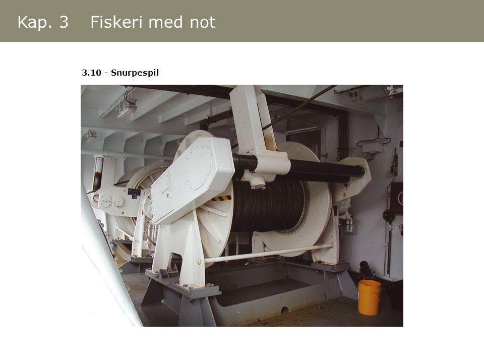 Kap. 3 Fiskeri med not 3.10 - Snurpespil