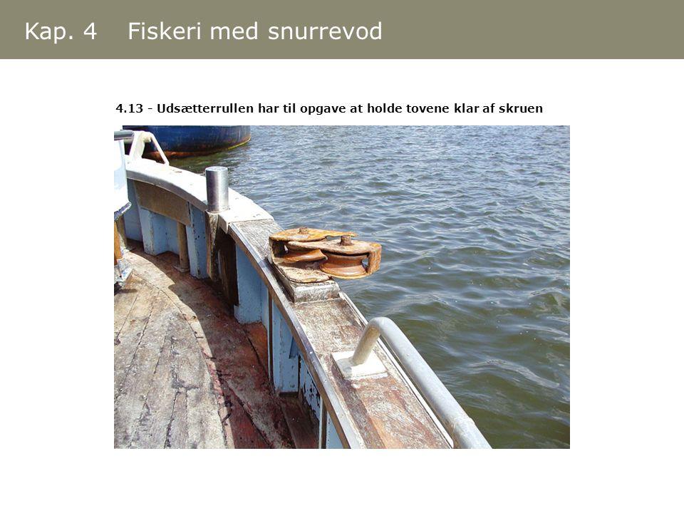 Kap. 4 Fiskeri med snurrevod