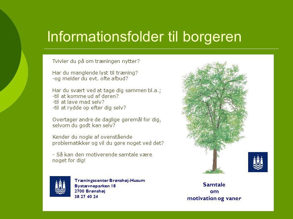 Informationsfolder til borgeren