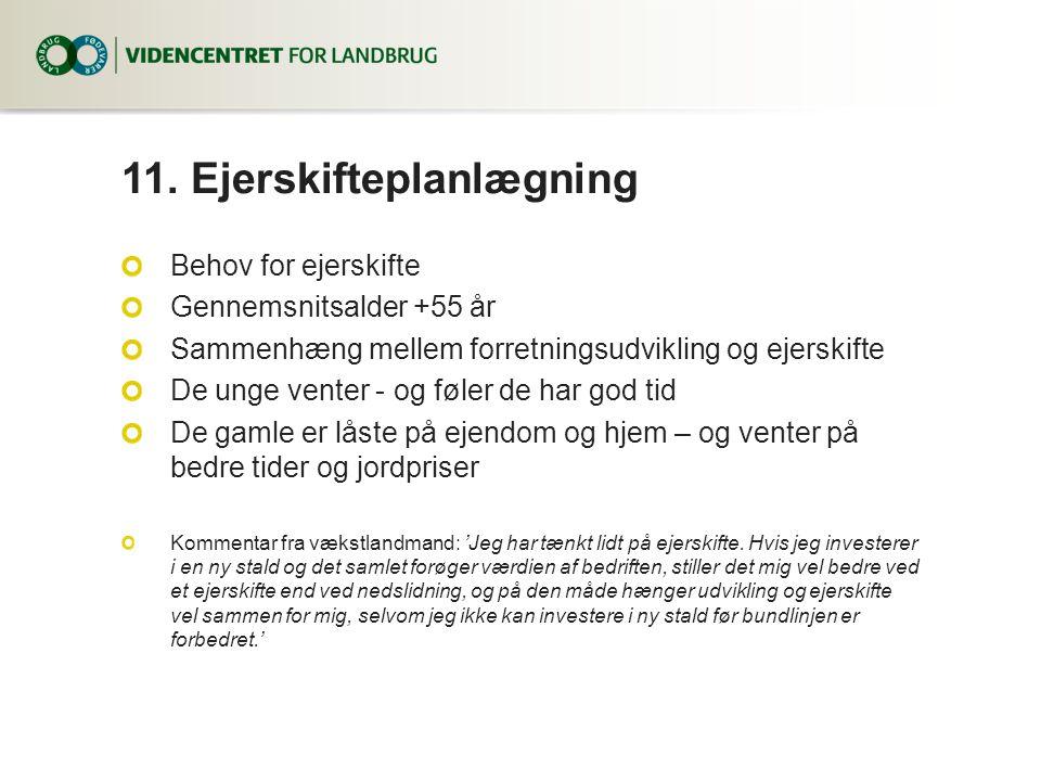 11. Ejerskifteplanlægning